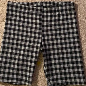 Forever21 Small Checkered Shorts
